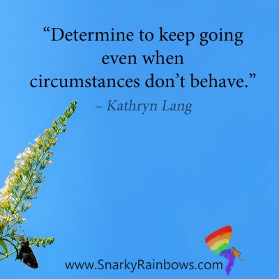#QuoteoftheDay - determined to keep going