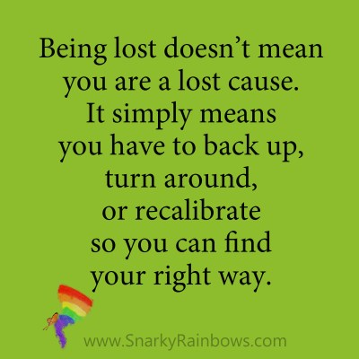 quote - not a lost cause