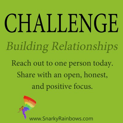 Daily Challenge - building relationships
