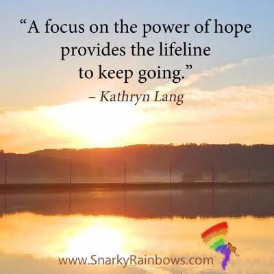 #QuoteoftheDay - power of hope