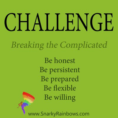 daily challenge - breaking the complicated