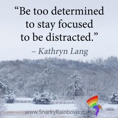 #Quoteoftheday - too determined