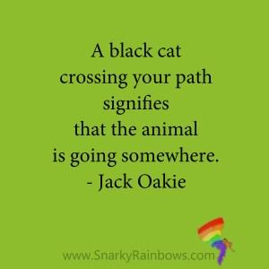 quote - jack oakie - black cat