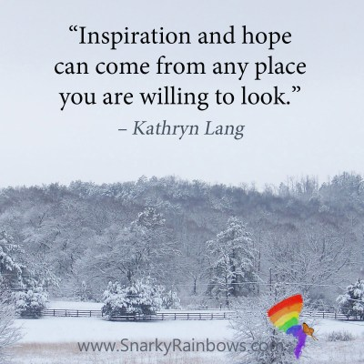 #QuoteoftheDay - inspiration and hope