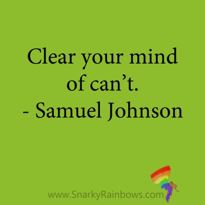 quote - samuel johnson - clear your mind