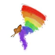 snarky rainbows