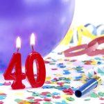 On Turning 40
