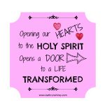 Prayer to Prepare Our Hearts [Holy Spirit series]