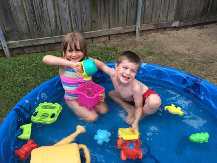 Lots of water fun for our stay-cation!