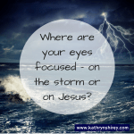 Eyes on Jesus