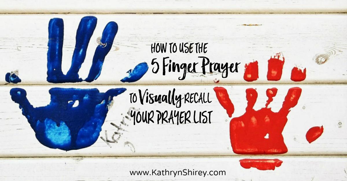 5 Finger Prayer