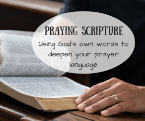 Praying Scripture
