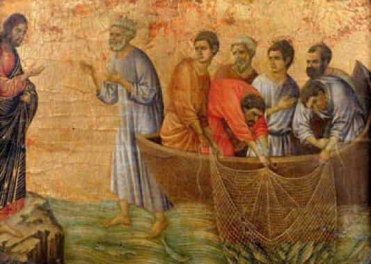 """The Miracle of the Catch"" - try praying through historical religious works of art"