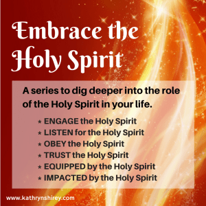 Embrace the Holy Spirit