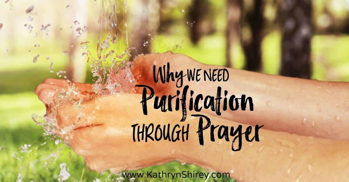 purification through prayer