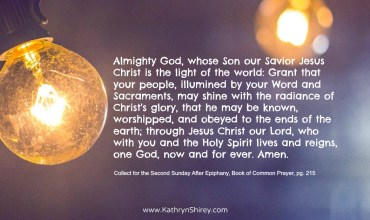 Prayer for the Second Sunday After Epiphany