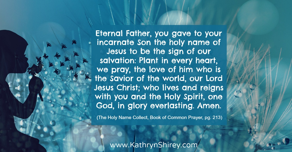 Collect for The Holy Name, Book of Common Prayer
