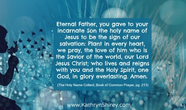Collect for The Holy Name