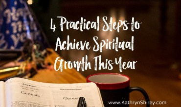 4 Practical Steps to Achieve Spiritual Growth This Year