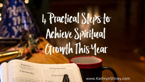 4 Spiritual Growth Goals You Need This Year