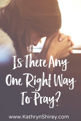 "Ever wondered if you're praying the ""right"" way? Is there any one ""right way"" to pray? Learn more about what Jesus taught about how to pray and find 50+ ideas on how to pray in a way that fits how God made you."