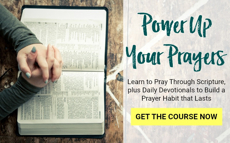 Learn to Pray Scripture, Daily Prayer Devotionals, Build a Daily Prayer Habit