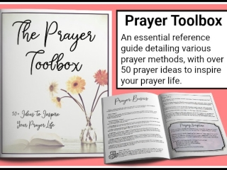 The Prayer Toolbox | Reference Guide on How to Pray