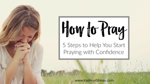 How to Pray for Beginners: 5 Steps to Getting Started