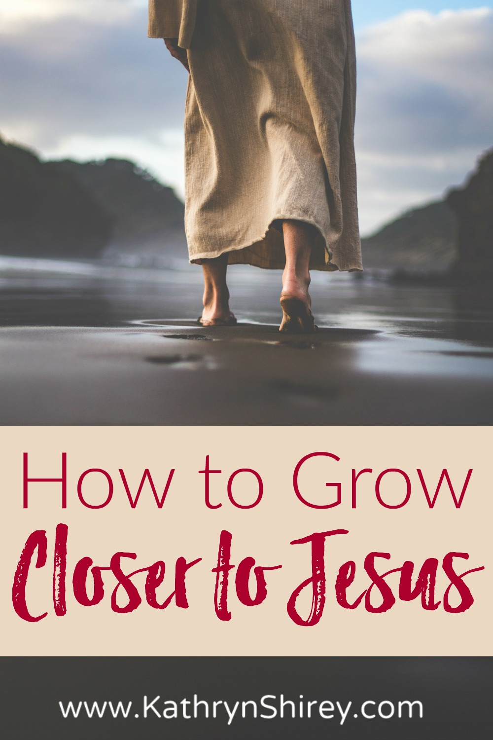 Who is by your side when life gets hard? Knowing Jesus personally and keeping him close will bring peace in the storms. Learn 5 ways how to get closer to Jesus. #TrustGod #Jesus