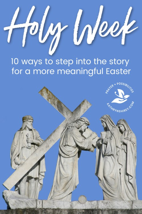 Are you stepping into the depth of Holy Week, or skipping straight from Palm Sunday to Easter? Try adding at least one of these Holy Week activities this year. Experiencing the full emotion of the week will make your Easter more joyful and meaningful. Daily Devotional | Prayer Vigil | Maundy Thursday | Foot Washing | Stations of the Cross | Good Friday | Fasting | Passover Seder | Holy Saturday