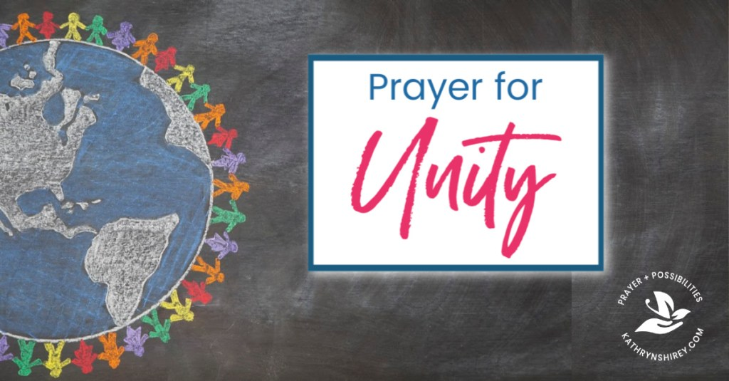 A daily prayer for unity. Pray for love and forgiveness to be our guiding compass, binding us together in perfect unity.