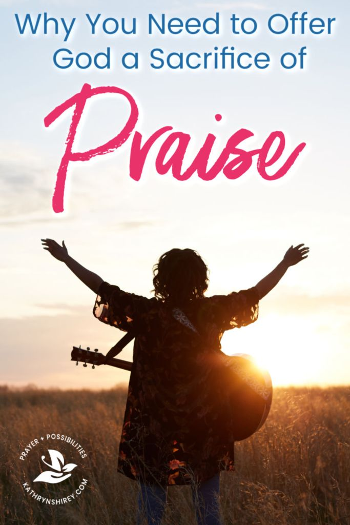 In a tough season and feeling overwhelmed? How are you praising God in this season? Offering God a sacrifice of praise will help you overcome your battles.