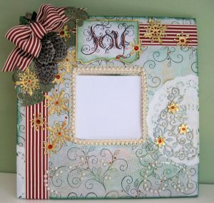 Heartfelt Creations altered Mirror 08