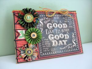 Typography Good Day Card 03