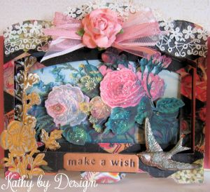 Shadow Box Birthday Card 09