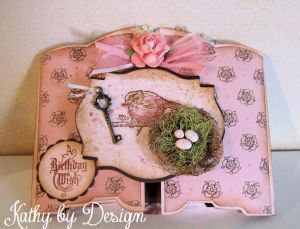 Shadow Box Birthday Card 14