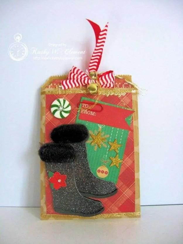 Secret Santa Boot