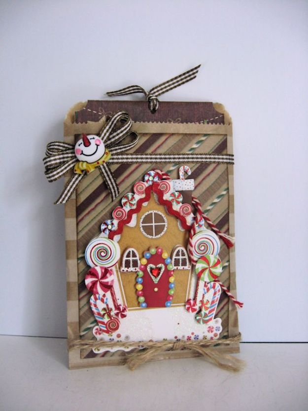 Secret Santa Gingerbread House