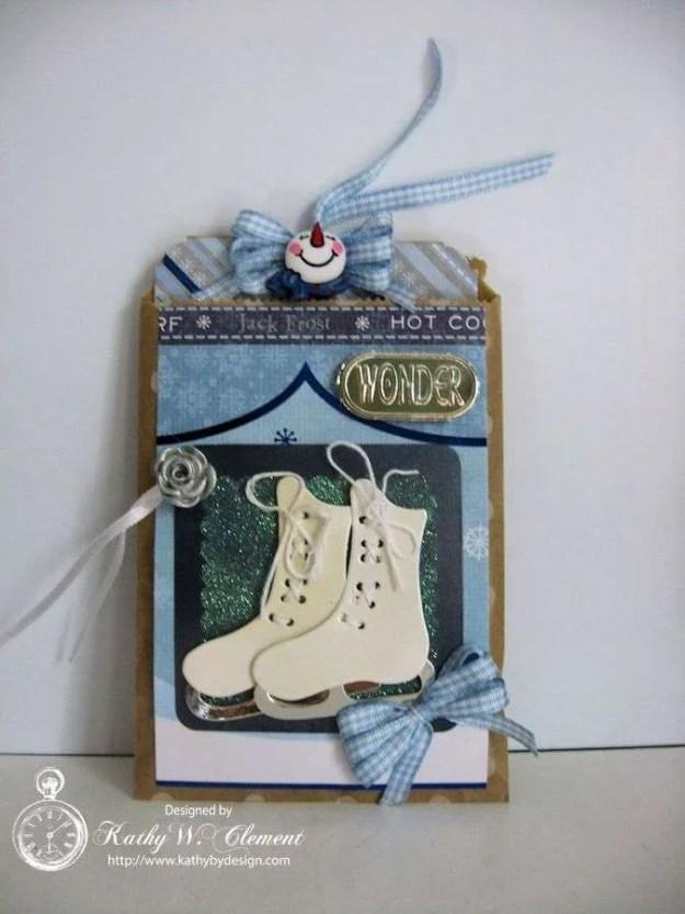 Secret santa bag skates