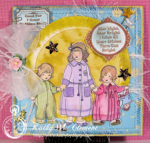 Kathy by Design/Bedtime Kids Birthday Card