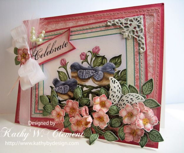 Kathy by Design for Heartfelt Creations/Birds and Blooms