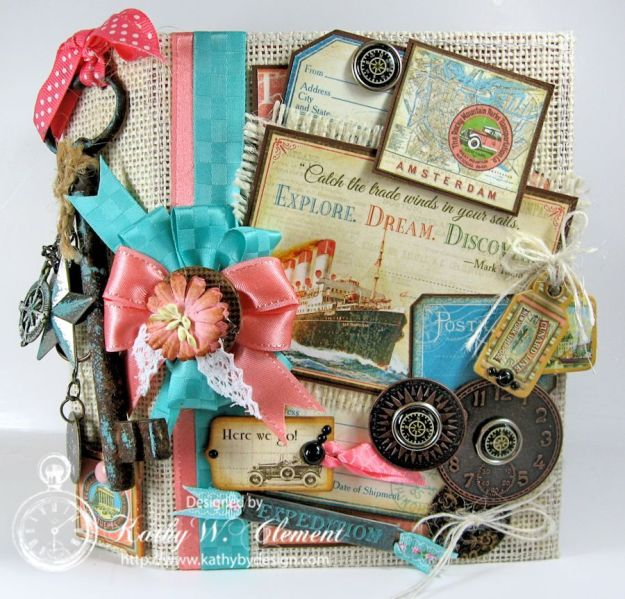Kathy by Design/Graphic 45 Come Away with Me Journal for RRR