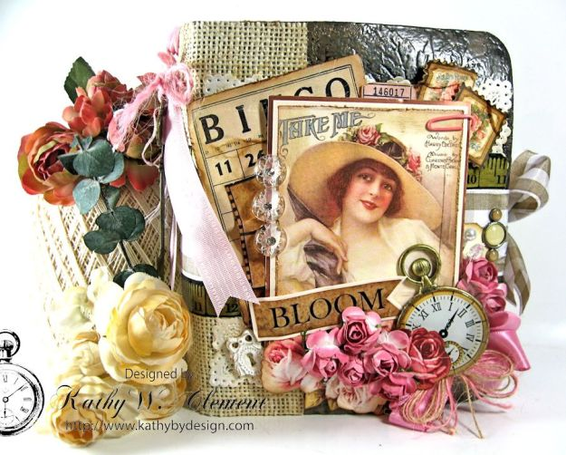 Everythings Coming Up Roses Mini Album Kathy Clement 01