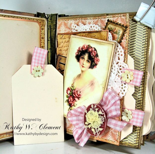 Everythings Coming Up Roses Mini Album Kathy Clement 09