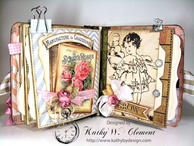 Everythings Coming Up Roses Mini Album Kathy Clement 11
