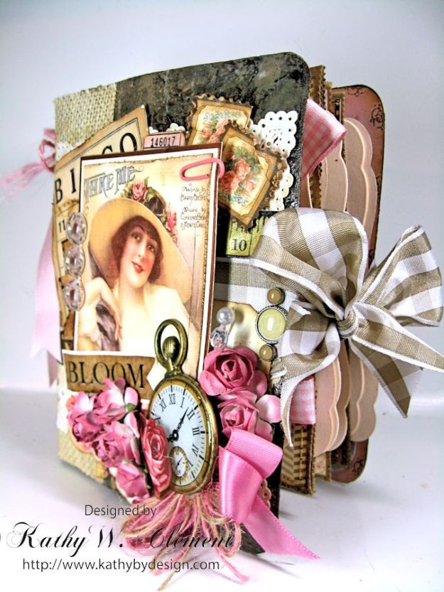 Everythings Coming Up Roses Mini Album Kathy Clement 14
