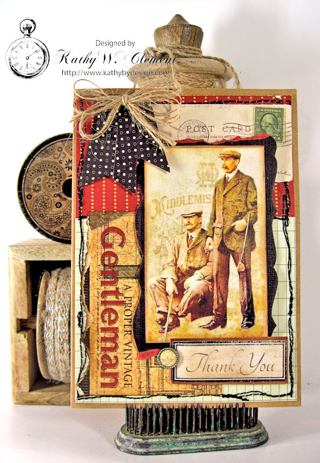 Hunting Card Masculine Creativity Kit