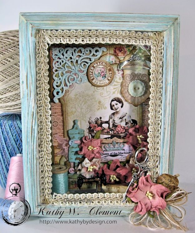 Kathy by Design/Sew Decorative Altered Frame 01
