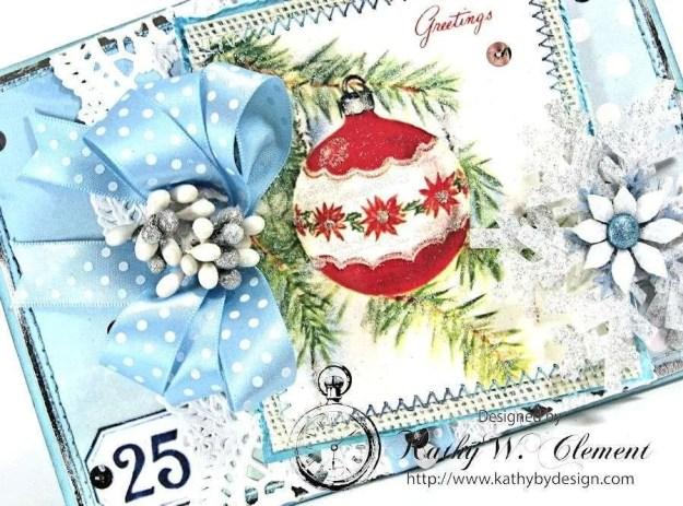 Blue Christmas Christmas Kit 04