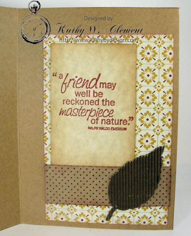 Polly Acorn card Fall Creativity Kit 03